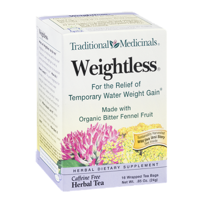 Traditional Medicinals Herbal Tea Weightless Tea Bags - 16 CT