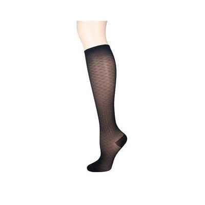 Sigvaris Jewel 15-20 mmHg Closed Toe Knee High Sock Size: B (7.5-9.5), Color: Mocha 85