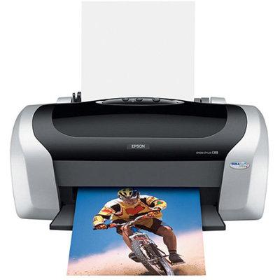Epson C88+ C11C617121 Stylus Color Inkjet Printer - 5760 x 1400 dpi, 23 ppm Black, 14 ppm Color