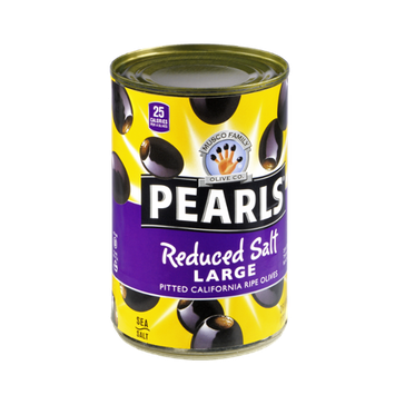 Musco Family Olive Co. Pearls Reduced Salt Large Pitted Olives