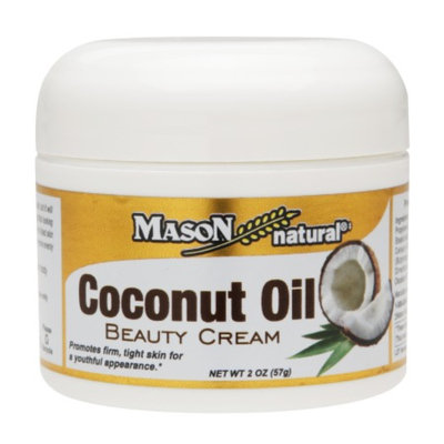 Mason Natural Coconut Oil Beauty Cream, 2 oz