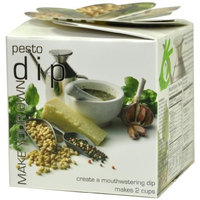 Foxy Gourmet Pesto Dip Mix, 3.17-Ounce Boxes (Pack of 4)