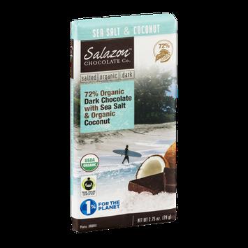 Salazon Chocolate Co. Organic Dark Chocolate Sea Salt & Coconut