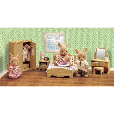 International Playthings Calico Critters Parent's Bedroom Set