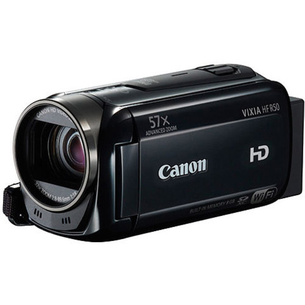 Canon VIXIA HF R50 Flash Memory Digital Camcorder with HD-1080p -