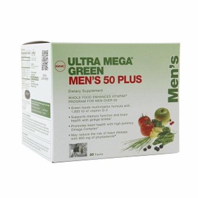 GNC Men's Ultra Mega Green 50 Plus Vitapak, 30 ea