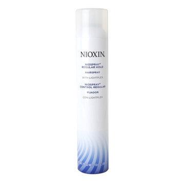 Nioxin Niospray Hairspray with Lightplex, Regular Hold, 10.6 oz