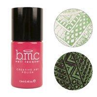 Shanghai Yashaxiyi Cosmetic Co.,ltd. BMC Metal Foil Nail Stamping Lacquers - Creative Art Polish Set 4, Debauchery