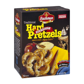 Bachman Brick Oven Flamed-Baked Traditional Hard Sourdough Pretzels