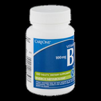CareOne Vitamin B1 Tablets 100 mg - 100 CT