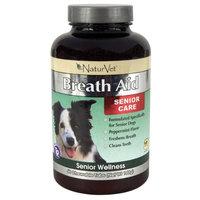 NaturVet Senior Care Breath Aid (60 Chewable Tabs)