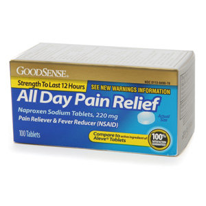 Good Sense All Day Pain Relief Naproxen Sodium 220mg