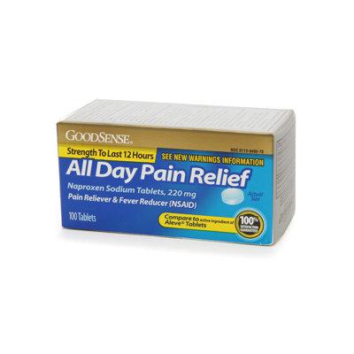 Good Sense All Day Pain Relief Naproxen Sodium 220mg