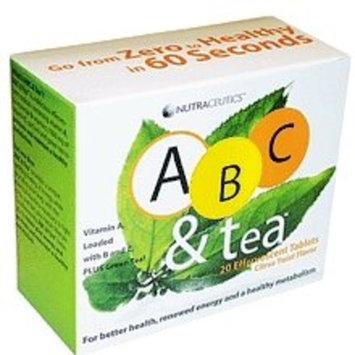 Nutraceutics ABC & Tea, Citrus Twist Flavor, 20 effervescent tablets