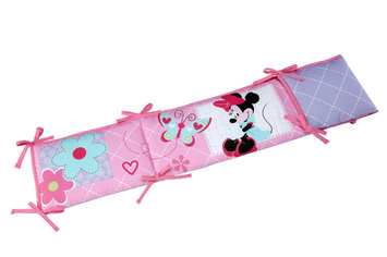 Crown Crafts Infant Products, Inc. Disney Baby Minnie Mouse Bumper - CROWN CRAFTS INFANT PRODUCTS, INC.