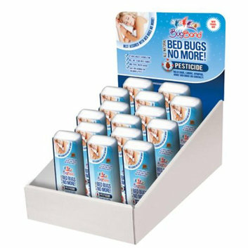 Bug Band Bed Bug No More Spray Travel Size Case of 12 3 oz