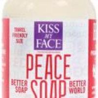 Kiss My Face Liquid Peace Soap: Pomegranata and Acai; 3.4oz Bottle