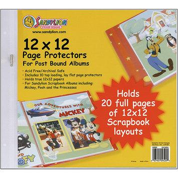 Sandylion Sticker Designs Sandylion Page Protectors 12X12 10/Pkg-Postbound