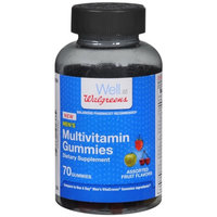 Walgreens Men's Multivitamin, Gummies, Fruit, 70 ea