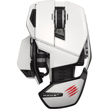 Madcatz Mad Catz M.O.U.S. 9 Wireless Mouse, White