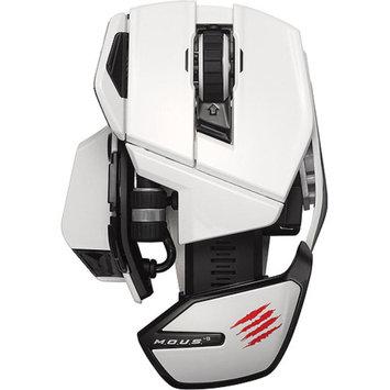 Madcatz Mad Catz M.O.U.S. 9 Wireless Mouse, White