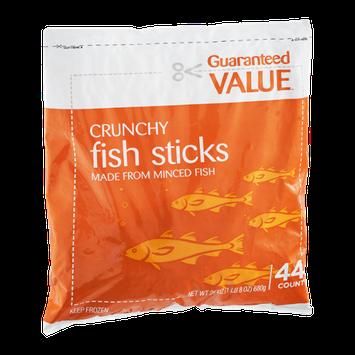 Guaranteed Value Crunchy Fish Sticks - 44 CT