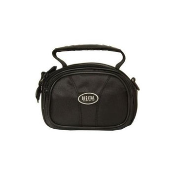 The Vivitar BL-304 BLK Digital Concepts Digital Camera Case has a padded interior to protect your camcorder and is water