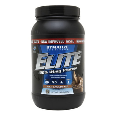 Dymatize Nutrition Elite 100% Whey Protein Rich Chocolate
