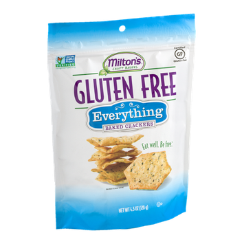 Milton's Craft Bakers Gluten Free Baked Crackers Everything
