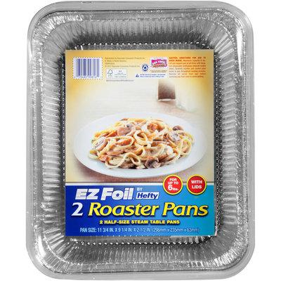 Hefty EZ Foil 2 Pk Roaster/Baker with Lid