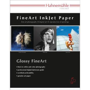 Hahnemuhle Fine Art Baryta FB, Bright White High Gloss Inkjet Paper, 350 gsm, 17x22