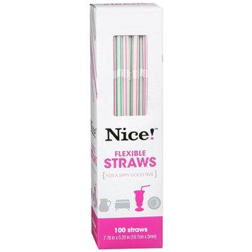 Nice! Flexible Straws