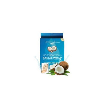 My Spa Life Coconut Plus Shea Butter Hydrating Facial Pellcule Facial Wraps - Total 6 Treatment, 2 Pack Of 3