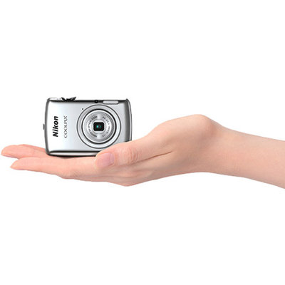Nikon Silver COOLPIX S01 Digital Camera with 10.1 Megapixels and 3x Optical Zoom