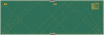 Olfa Gridded Cutting Mat Set-23 X70 Clipped
