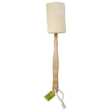 Swissco Bamboo Collection Loofah Back Brush