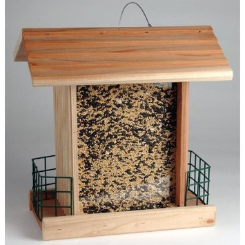Natures Nuts Chuckanut Products 00195 Songbird Seed and Suet Chalet Bird Feeder (Discontinued by Manufacturer)