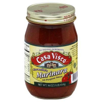 Casa Visco Marinara Sauce, 16 Ounce -- 12 per case.