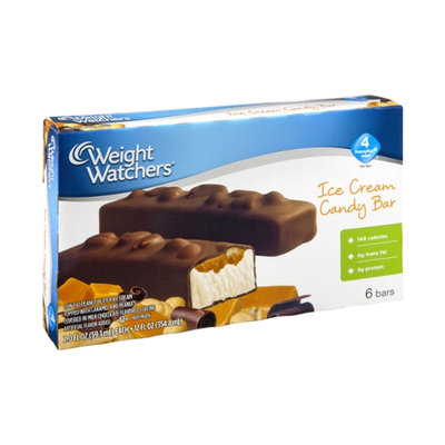 Weight Watchers Ice Cream Candy Bar - 6 CT