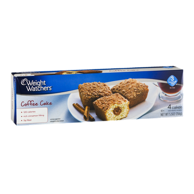 Weight Watchers Coffee Cake - 4 CT