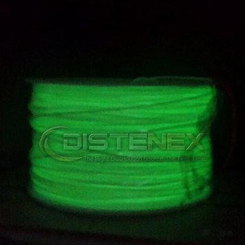 Distenex 3D Printer ABS Filament 1.75mm 1kg Roll Glow Green