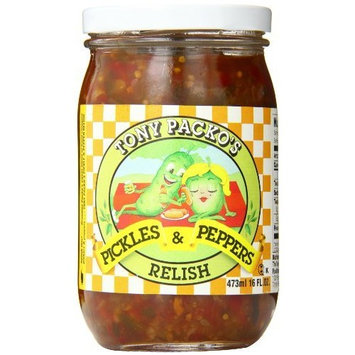 Tony Packo's Tony Packo Pickle and Pepper Relish, 16 Ounce