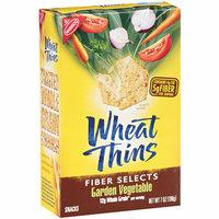 Nabisco Wheat Thins Fiber Selects Garden Vegetable Snacks