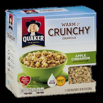 Quaker® Warm & Crunchy Granola Apple Cinnamon