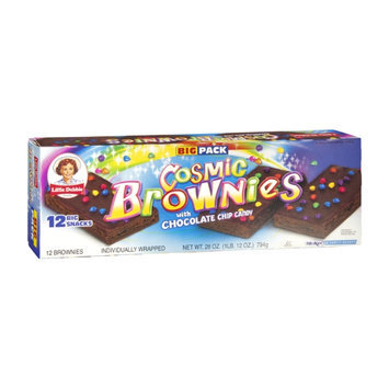 Little Debbie Big Pack Cosmic Brownies with Chocolate Chip Candy - 12 CT