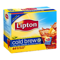 Lipton Glass Size Tea Bags Cold Brew - 44 CT