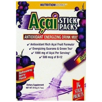 Windmill NUTRITION WORKS ACAI STICK POW Size: 14 PKS