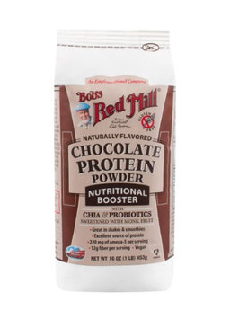Bob's Red Mill Protein Powder Nutritional Booster Chocolate 16 oz