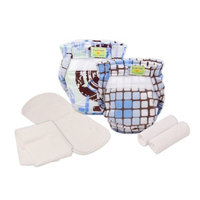 Kushies Reusable Ultra-lite Diapers Trial Pack