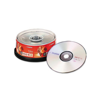 Imation imation 17619 imation DVD-R Discs, 4.7GB, 16x, Slim Jewel Cases, Silver, 10/Pack